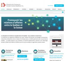 Image du projet | La Chambre de Commerce Canado-Suisse du Québec